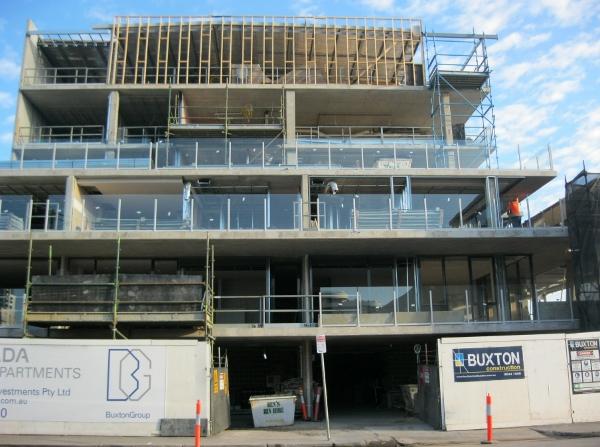 2 August 2011 - under construction