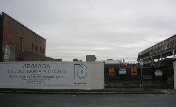 Cleared site - 24 January 2011