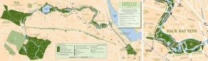Emerald Necklace map