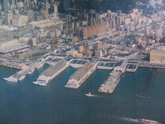 The Chelsea Piers in 1994