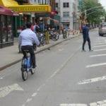 separated bike lane