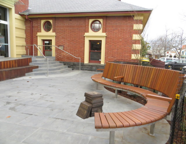 Emerald Hill Library and Heritage Centre Forecourt
