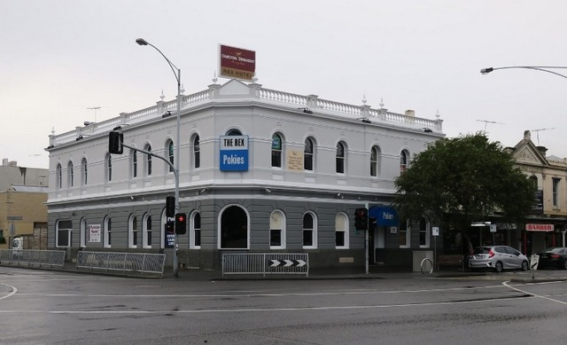 The Rex Hotel in Port Melbourne